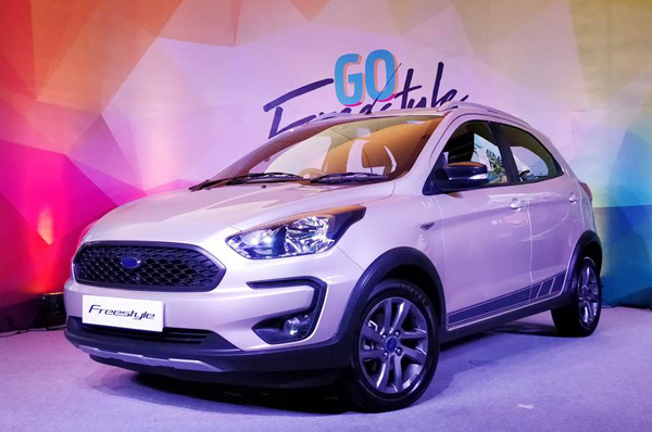 Ford launches its Freestyle in India