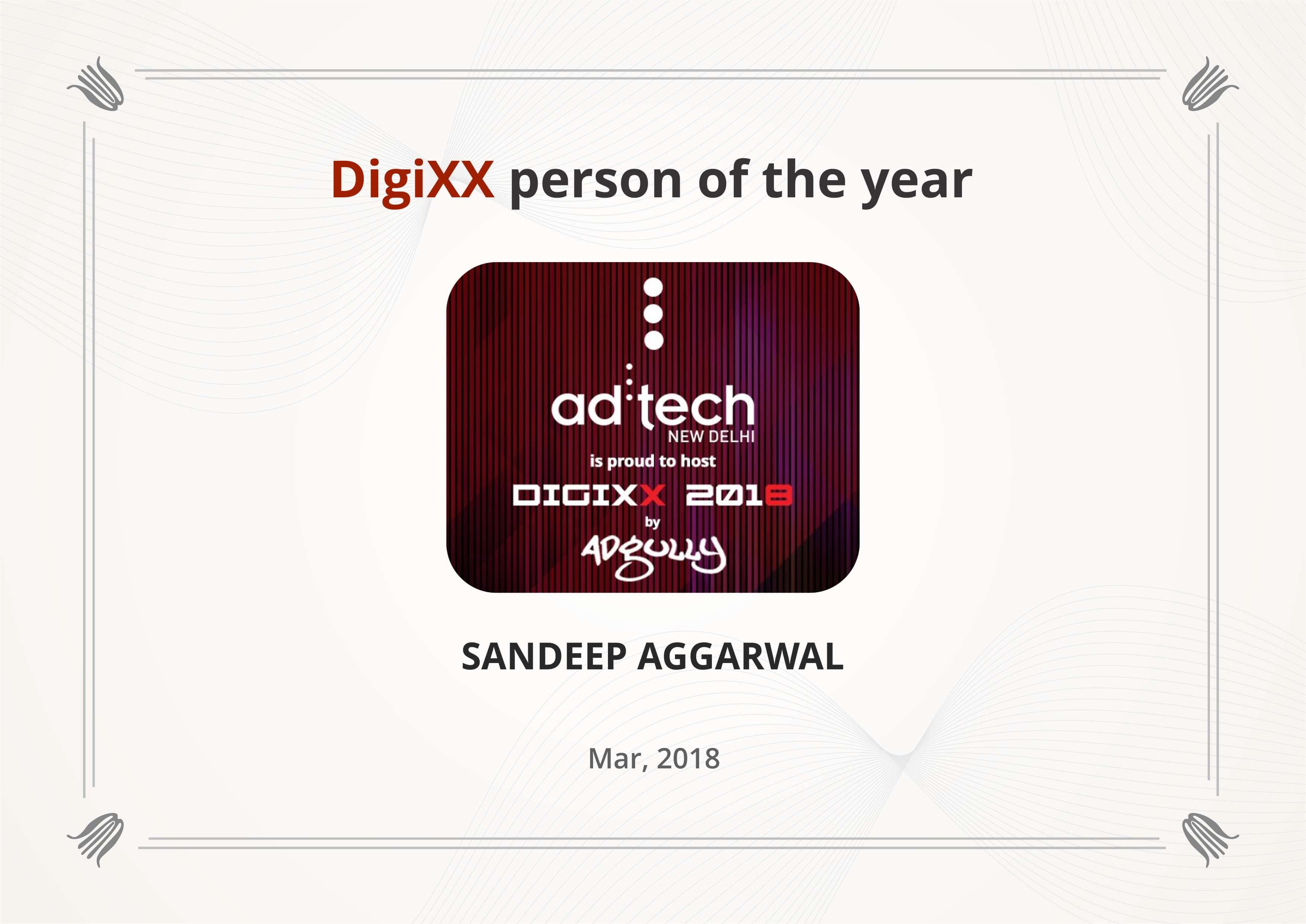 Digixx Person 2018