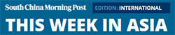 THIS WEEK IN ASIA South China Morning Post | Droom in news