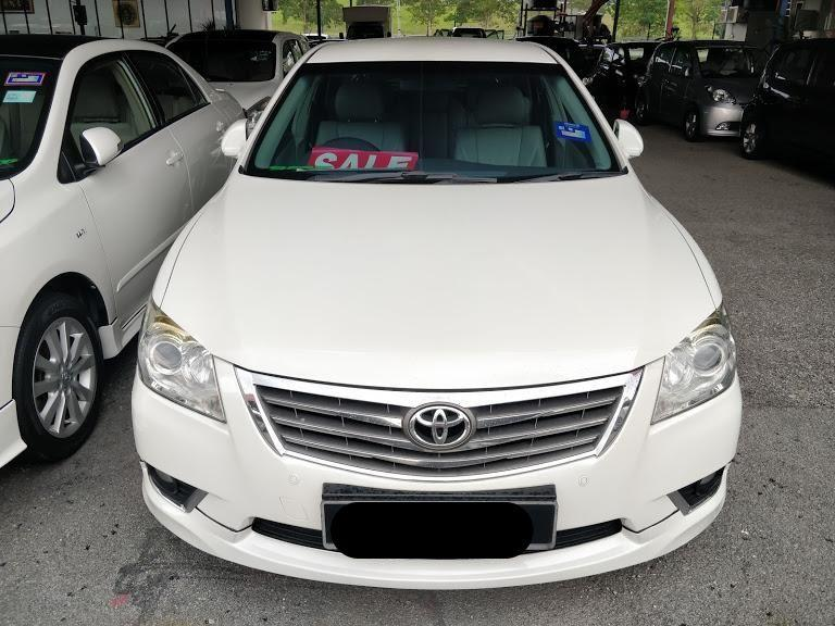 Toyota Camry 2.4 V Sedan (A) 2011