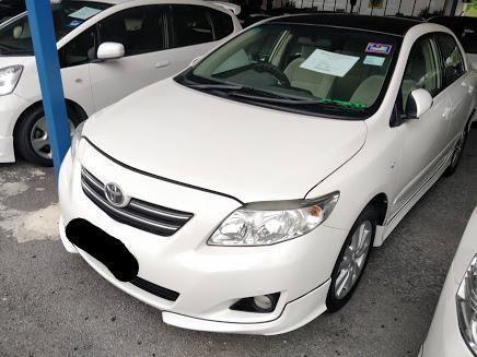 Toyota Corolla Altis 1.8 G (A) 2008