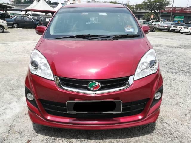 Perodua Alza 1.5L 1.5 SE ZS (A) 2016