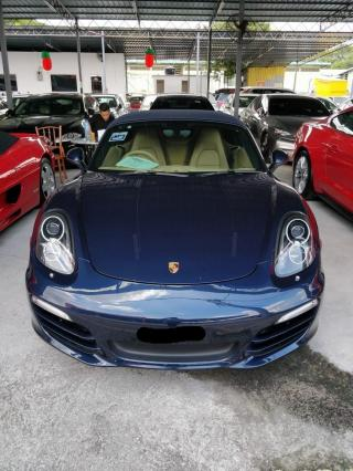 Porsche Boxster 2.7 981 2012
