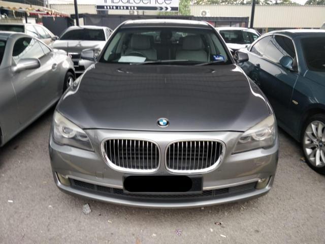 BMW 7 Series 750Li 4.8 Sedan (A) 2009
