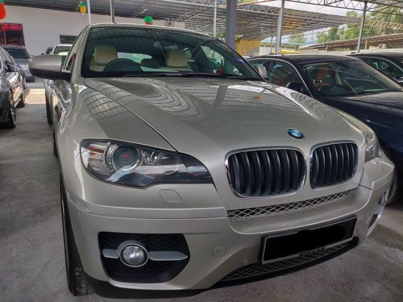 BMW X6 3.0 xDrive35i (A) 2012