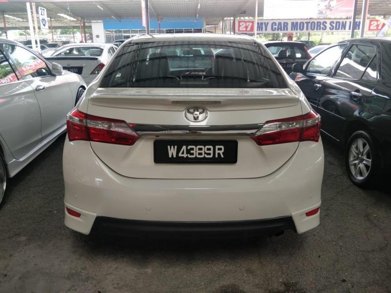 Toyota Corolla Altis 2.0 G 2014