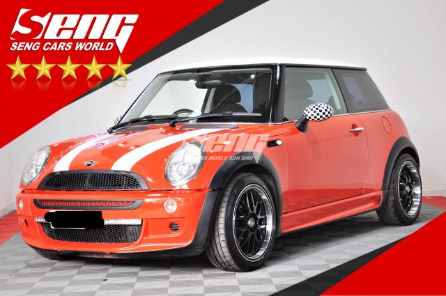 Mini Cooper S 1.6 Coupe 2 Door 2005