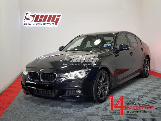 BMW 3 Series 330i LCi 2.0 F30 M-Sport 2015