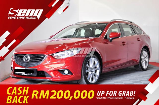 Mazda 6 Grand Touring 2.5 Wagon 2013