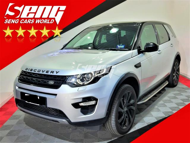 Land Rover Discovery Sport 2.0 Si4 2015
